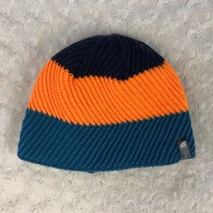 The North Face Beanie Hat Winter Cap Youth Small